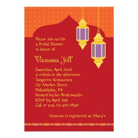 Kertas Gantung Paper Lantern 30 Cm Moroccan Lantern Bridal Shower Invitation Zazzle