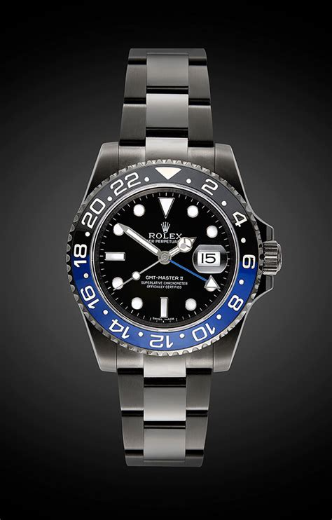 The Rolex GMT Master II ?Batman?