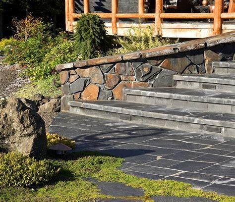 slate pavers for patio slate pavers cost benefits slate patio