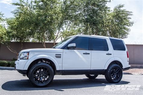 land rover lr4 white black rims 2012 land rover lr4 with 20 quot giovanna shaki in black
