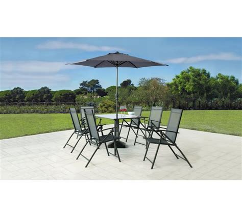 buy home milan 6 seater patio set at argos co uk your
