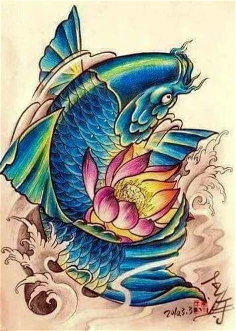 koi tattoo swimming up pinterest the world s catalog of ideas