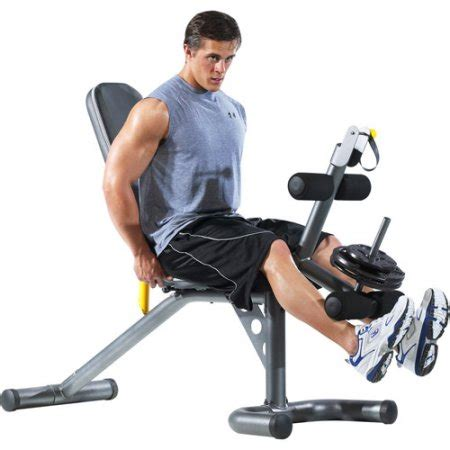 gold gym workout bench gold s gym xrs 20 olympic workout bench walmart com