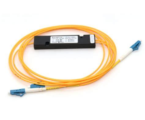 Fiber Optic Passive Splitter 1x2 With Modulebox 1x2 plc fiber optic splitter in abs box
