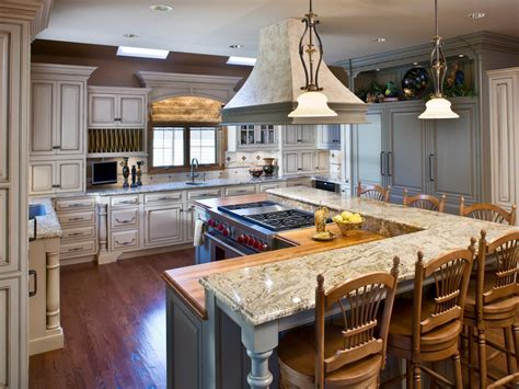 kitchen island layout photo page hgtv