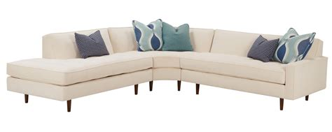 mid century modern sectional sofa mid century modern sectional with tufted seat and tight