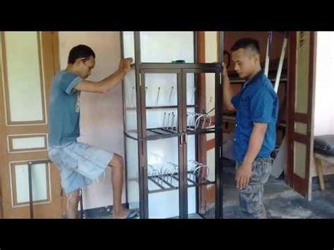 cara membuat jemuran aluminium lemari kaca n aluminium doovi