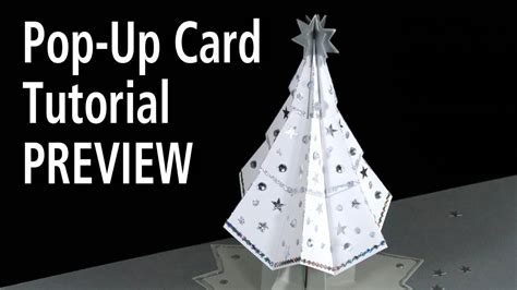 Tree Pop Up Card Templates by Tree Pop Up Card Tutorial Preview