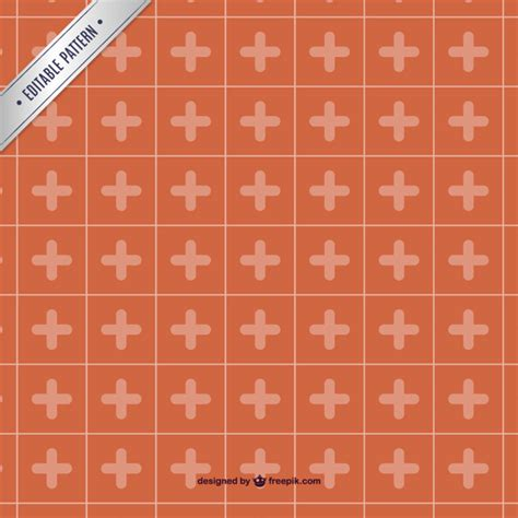 ai pattern cross red cross template pattern vector free download