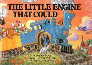 the little engine that could a pop up book