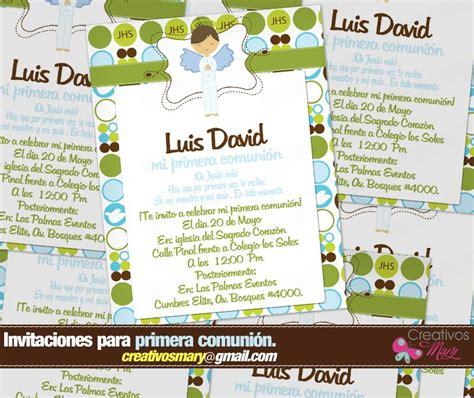 invitaciones para primera comunion nio de en blanco invitaciones para primera comunion de