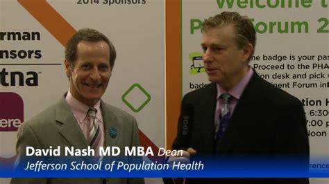 Pros Od Md Mba by Pha Forum 2014 Meet David Nash Md Mba On Vimeo