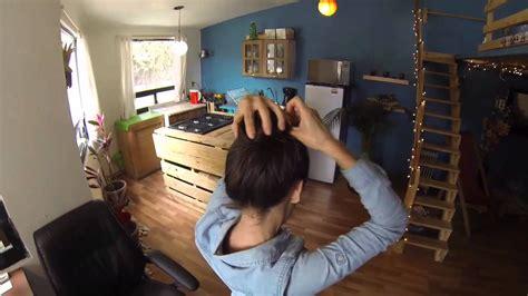como hacer un chongo facil y rapido youtube como hacer un chongo peinado r 225 pido y f 225 cil youtube