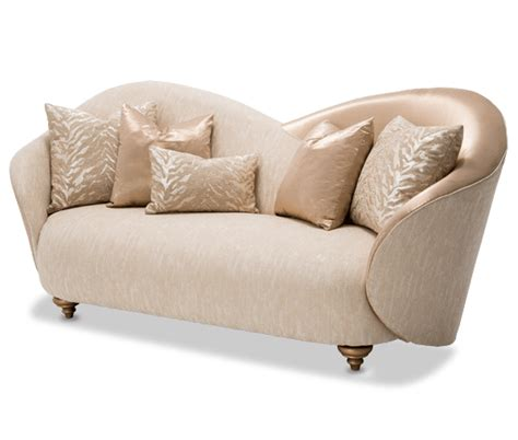 Michael Gold Furniture by Camelia Bright Gold Michael Amini Sofa Horizon Home