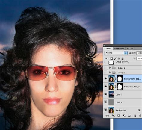 photoshop cs5 tutorial cutting out hair cutting out hair in photoshop by merging and manipulating