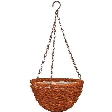 Hanging Planter Chain by Woodland 9 In Hanging Planter With Chain Pride