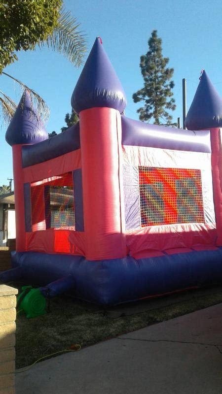 Pink & Purple Bouncy Castle   Doc McStuffins Bounce House