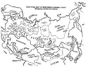 Outline Map Of Russia And Northern Eurasia by Blank Map Of Eurasia