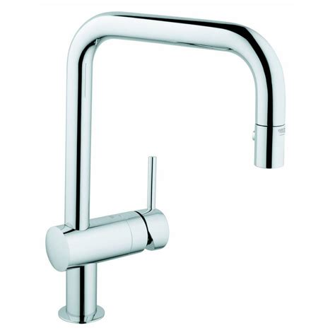 Grohe Ladylux Kitchen Faucet Grohe Single Handle Pull Out Spray Head Kitchen Faucet