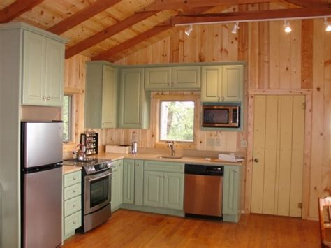 Cabin Style Kitchen Cabinets Cabin Kitchen Traditional Kitchen By Mccaleb Construction Inc