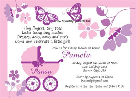 Butterfly Baby Shower Invitations Printable Free by Butterfly Baby Shower Invitations Gangcraft Net