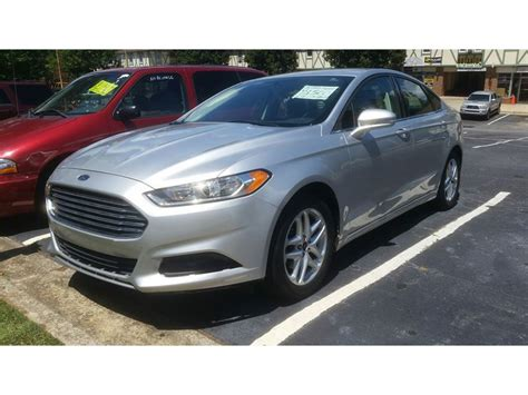 used 2014 ford fusion se for sale by owner in atlanta ga
