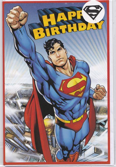 printable birthday cards superman superman flying happy birthday card retrospace