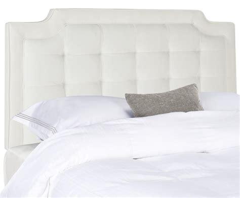 white plush headboard sapphire white tufted velvet headboard headboards