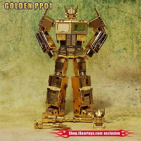 Transformers Gold faith leader gold transformers toys tfw2005