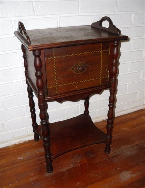 cigar table antique cigar stand humidor copper lined side table