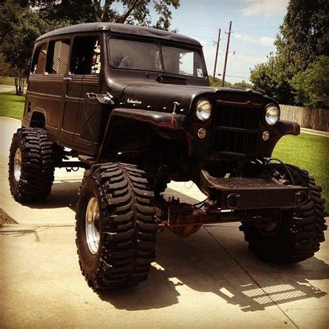 jeep wagon black lifted willys wagon looks like it could be used in the