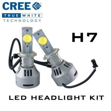 Led Cree H7 2nd generation h7 cree headlight led kit 3200 lumens