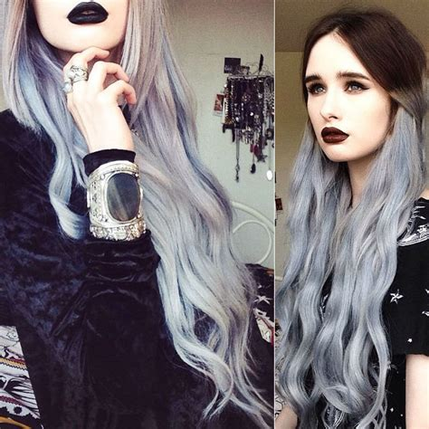 dark black brown to pastel ombre hair color trends 2015 how to go from dark hair to pastel color in one set of