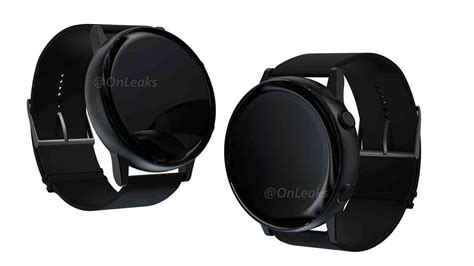 upcoming samsung galaxy smartwatch shown in renders