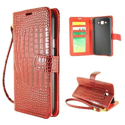 Samsung Galaxy J2 Prime J2prime Flip Mirror Cover luxury wallet for samsung galaxy j2 j200 j2 prime j2prime flip cover pouch crocodile pu