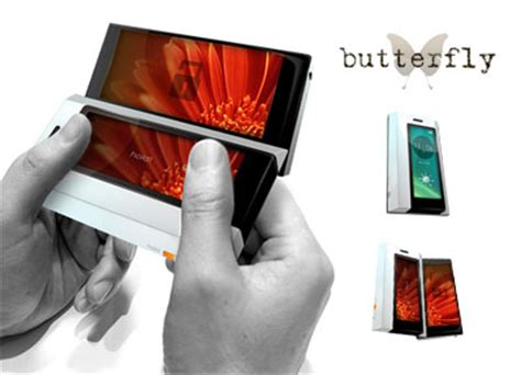 Butterfly Cell Phone Designed By A 15 Year by Butterfly Concept Cellphone Design Is Sign Of Early Talent