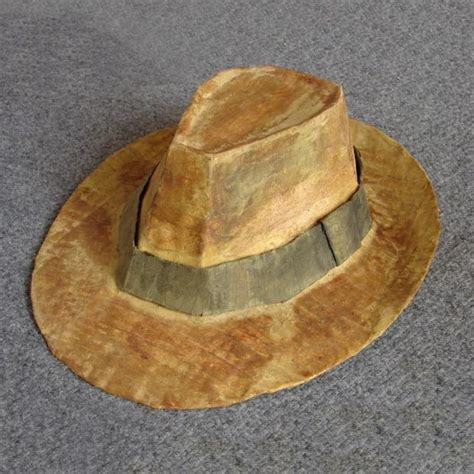 how to make a fedora indiana jones