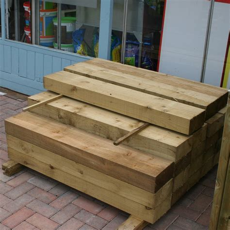 New Treated Railway Sleepers by New Pressure Treated Railway Sleepers
