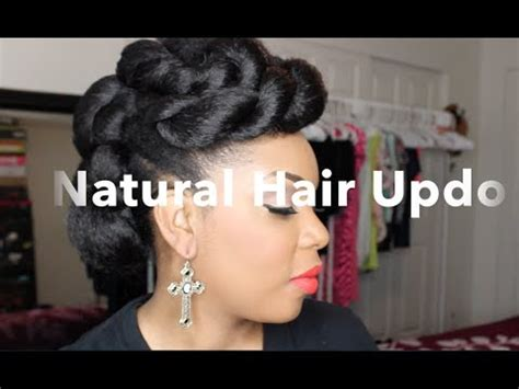 hairstyles to do with kanekalon natural hair natural hair updo with braiding hair