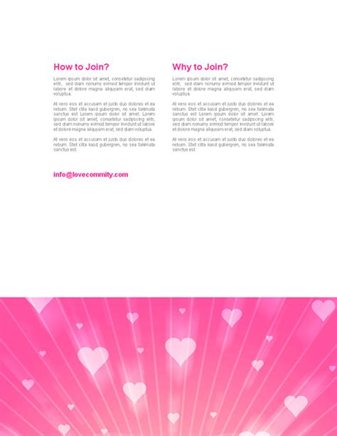 templates for word love 1268 word love wedding word templates dreamtemplate