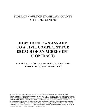 Stanislaus Superior Court Search Stanislaws Superior Court Fill Printable Fillable Blank Pdffiller