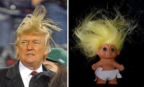 ted donald doll 21 things that look exactly like donald