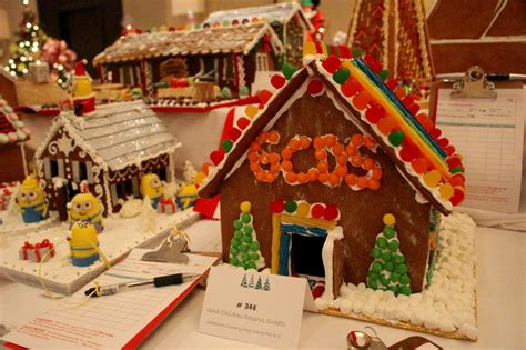 Gingerbread House The Enchanted Step Inside The Junior League Of Greenwich Enchanted