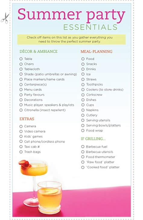 Backyard Bbq Checklist 1000 Images About Catering Menus On