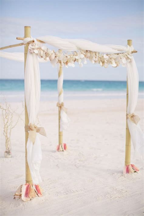 great ideas  beach wedding arches deer pearl