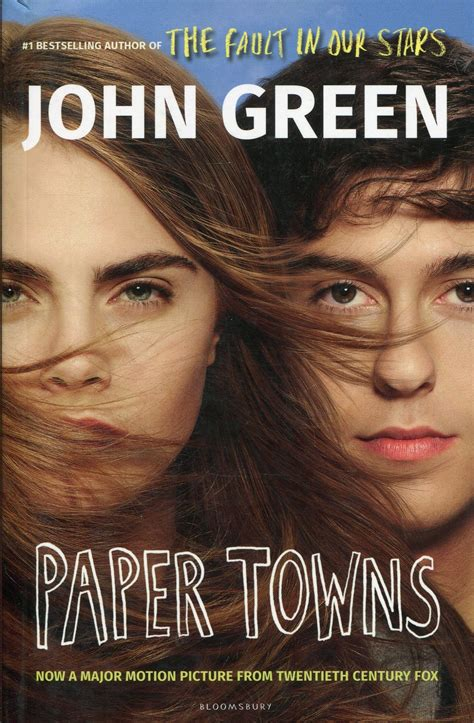 Paper Town By Green green paper towns book cover www imgkid the