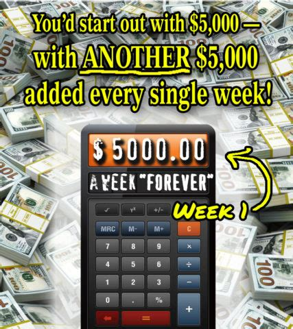 Pch 5000 A Week For Life 2017 Winner - feb our forever prize payments will really add up week