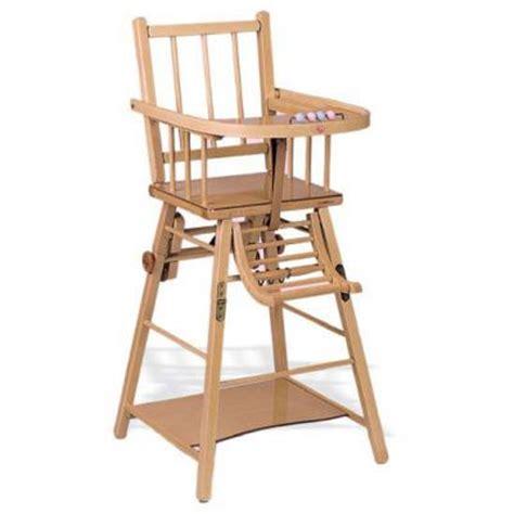 chaise haute bébé occasion chaise haute b 233 b 233 bois occasion ouistitipop