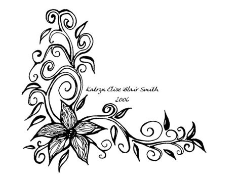 free flower tattoo designs cliparts co