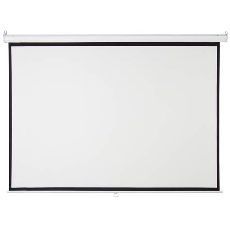 119 quot manual projector screen 84 quot x84 quot pull projection home theater